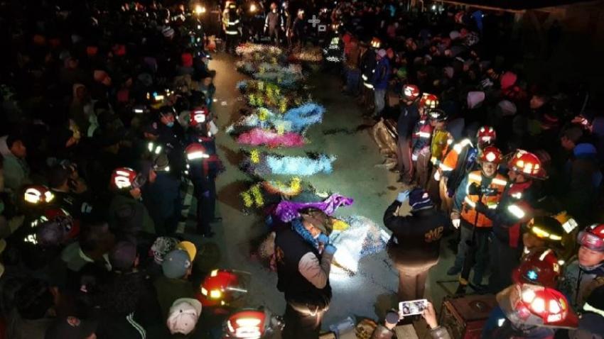 Al menos 18 muertos y 19 heridos por atropello en Guatemala
