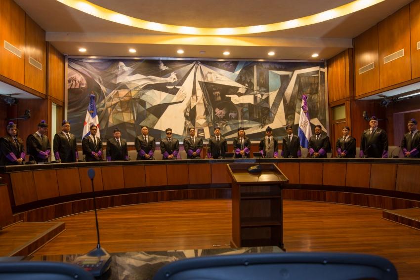 Presidente Suprema Corte de Justicia, Luis Henry Molina Peña, declara lucha contra mora judicial
