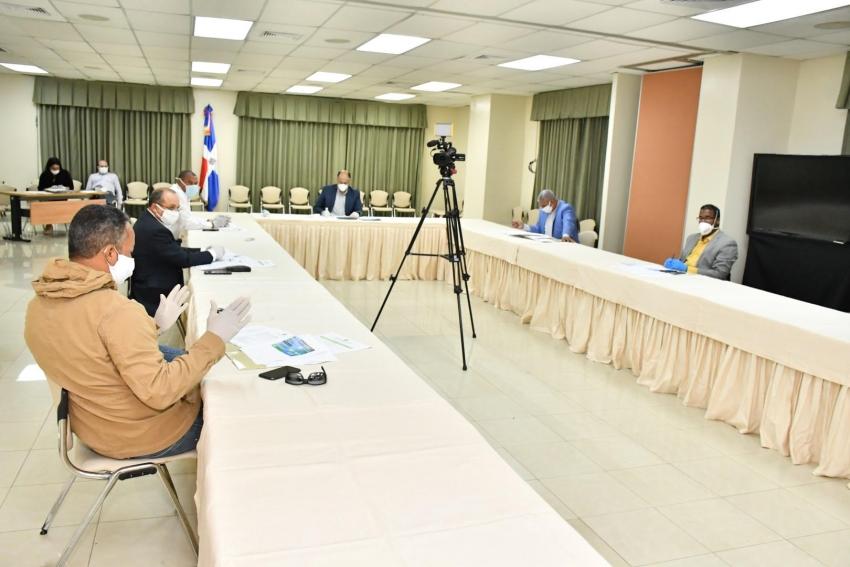 """Comisión Bicameral designada para dar seguimiento a """"Resolución de declaratoria en estado de emergencia en todo el territorio nacional por un plazo de 25 días"""" realiza primera reunión"""