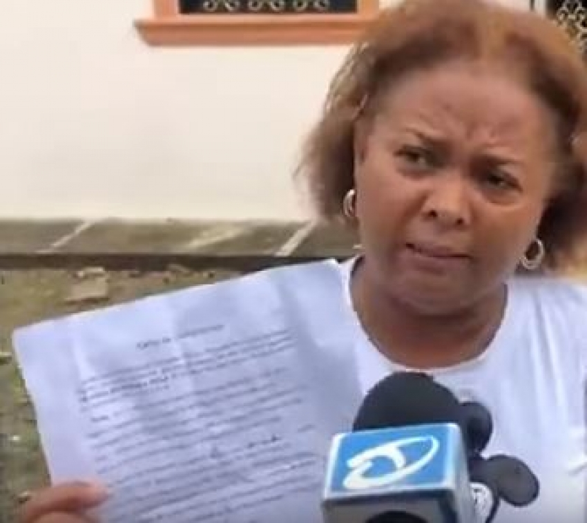 Dominicana con coronavirus desmiente escapó de hospital en SFM